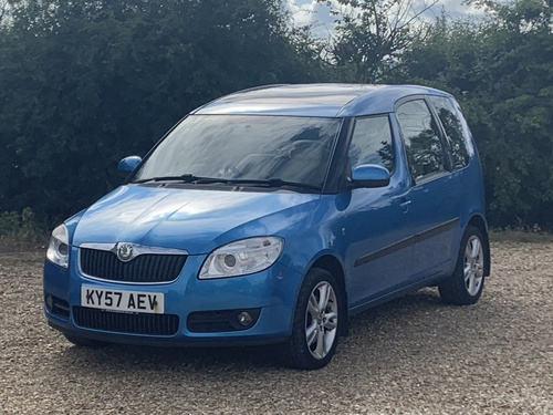 Skoda Roomster 3 1.6 Petrol Automatic 5 Door
