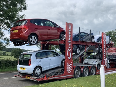 Another delivery of cars.... i do actually love it when deliveries arrive