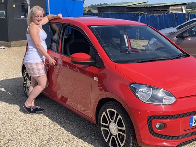 Catherine regained her confidence in this car after a nasty accident in her previous car